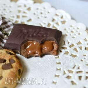 handmade breloki ciatko brelok czekoladowego łasucha :-)