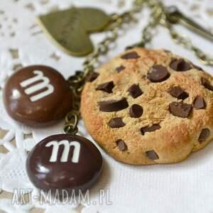 handmade breloki cukierki brelok czekoladowego łasucha :-)