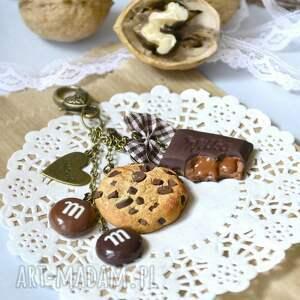 ciatko breloki brązowe brelok czekoladowego łasucha :-)