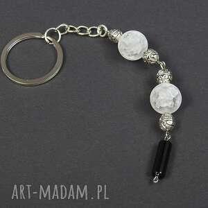 brelok breloki czarne 0126/ do kluczy kamień onyks