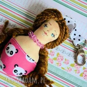 breloki: Brelok - Panna Ścinka - ręcznie malowana (4 ) - malowany lalka