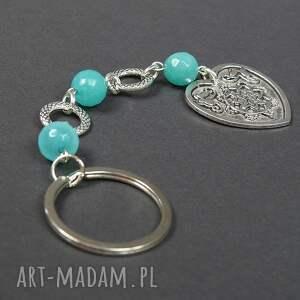 hand made breloki przywieszka 0127/mela brelok do kluczy kamień