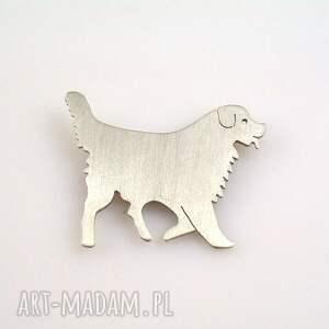 handmade broszki broszka berneński pies pasterski