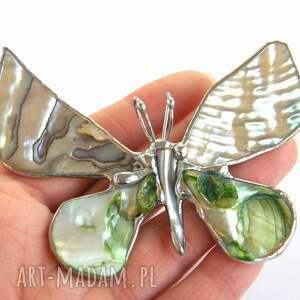broszki broszka-z-wisiorkiem broszka i wisior (2 w 1): motyl