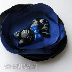 eleganckie broszki kot broszka - maurycy 3d