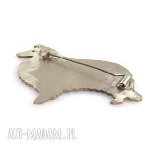 broszki pies broszka owczarek szetlandzki