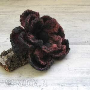 broszka broszki różowe z filcu