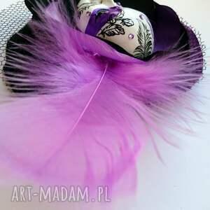 czarne broszki maska broszka z kolekcji masquerade