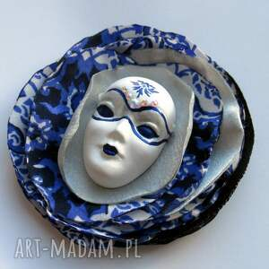 srebrne broszki broszka z kolekcji masquerade
