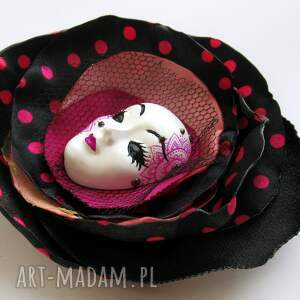 broszka broszki czarne z kolekcji masquerade