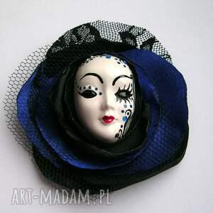broszki: Broszka z Kolekcji Masquerade - zamówienie specjalne wenecka