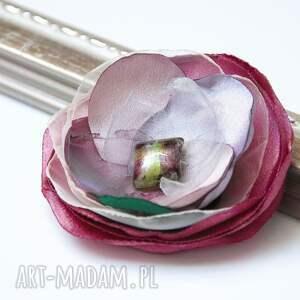 broszki broszka delikatna przypinka kwiatek