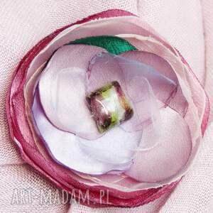 broszki biżuteria delikatna broszka przypinka kwiatek