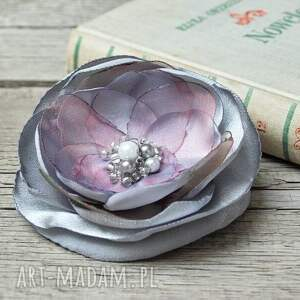 oryginalne broszki broszka elegancka kwiatek, prezent