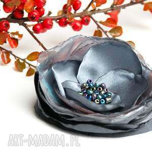 broszki przypinka elegancka broszka kwiatek wykonana