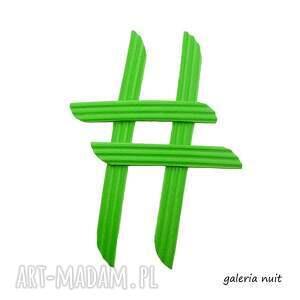 broszki imprezowa hasztag # broszka zielona