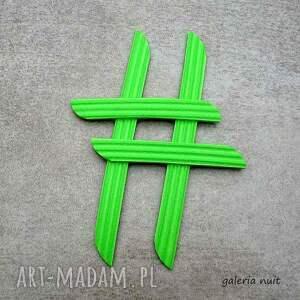niebanalne broszki młodzieżowa hasztag # broszka zielona