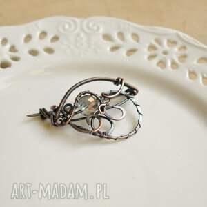 broszki kryształ - broszka