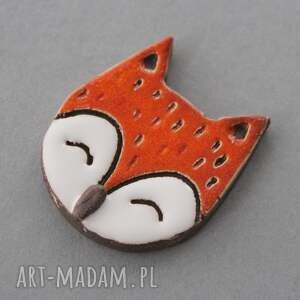 broszki minimalizm maluszek broszka ceramiczna