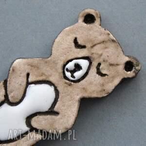 broszki skandynawski misio broszka ceramiczna