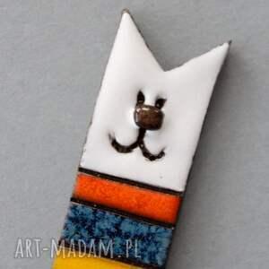 handmade broszki miua broszka ceramiczna
