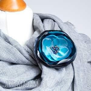 handmade broszki broszka modna przypinka kwiatek