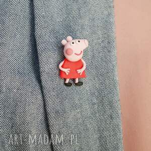 peppa broszki świnka - broszka