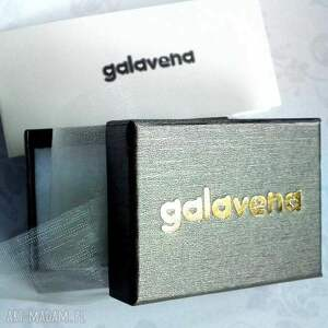 brązowe broszki laserowo turkusowa mandala :: unikatowa