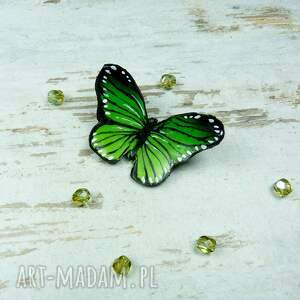 gustowne broszki motyl wiosnenna broszka