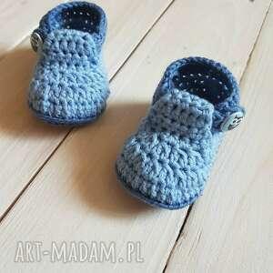 ręcznie wykonane buciki buty