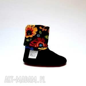 modne buciki buty niemowlęce dla niemowlaka - folk