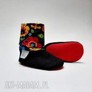 buciki prezent na roczek buty dla niemowlaka - folk