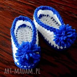 buciki niemowlece niemowlęce szydełkowe dla