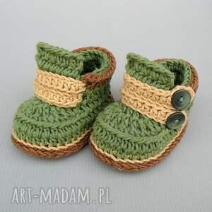 brązowe buciki niemowlę trampki cardiff
