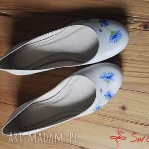 beżowe buty chabry baleriny