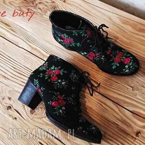 handmade buty botki czarownice w tybecie