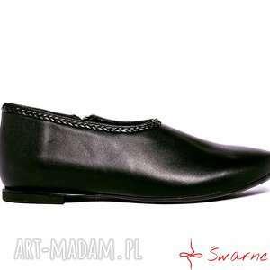 modne buty warkocz marysienki - krótkie sztyblety