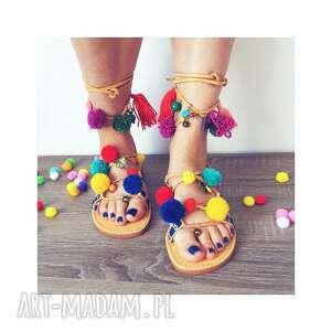 hand made buty sandały 39 - zamówienie specjalne dla pani