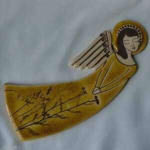 unikatowe ceramika komunię anioł ceramiczny - zlatna livada