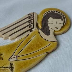 komunię ceramika anioł ceramiczny - zlatna livada