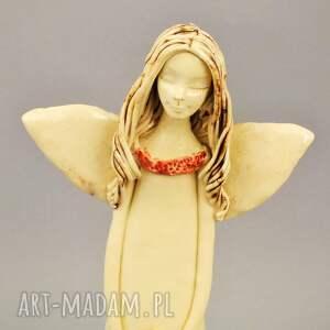 ceramika anioł z dedykacją