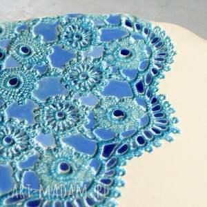ręczne wykonanie ceramika patera ceramiczna