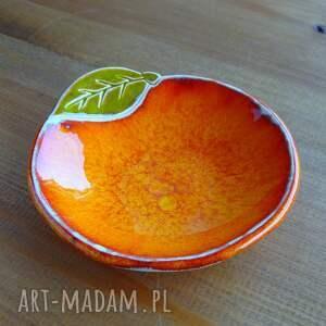 ceramika miseczka ceramiczna pomarańcza