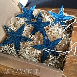 pomysł na upominki na święta gwiazdki na choinkę ceramiczne