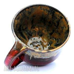 brązowe ceramika kubki ceramiczne kubki- para dla pary