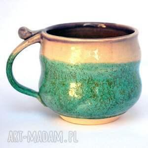 brązowe ceramika kubek ceramiczne kubki - czar par nr 165
