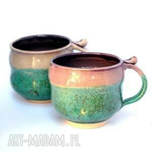 ceramika turkusowe ceramiczne kubki - czar par nr 165