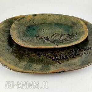 atrakcyjne ceramika ceramiczne półmiski - natura
