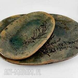 dom ceramika ceramiczne półmiski - natura