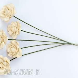 modne ceramika prezent ceramiczne róże ręcznie lepione
